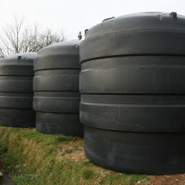 Below Ground Water Tanks